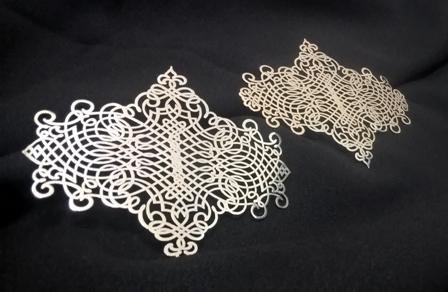 Декор из серебра
