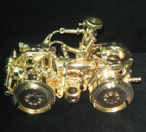химическая металлизация серебром методом пульверизации FunChrome