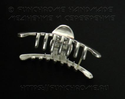 Меднение и серебрение заколки в домашних условиях. FunChrome HandMade (4)