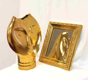 Золочение пульверизацией FunChrome Gold