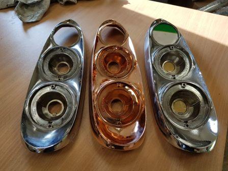 Изготовление оптики в автомобильную фару из меди