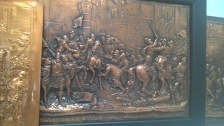 Генрих 4 въезжает в Париж. Гальванопластика